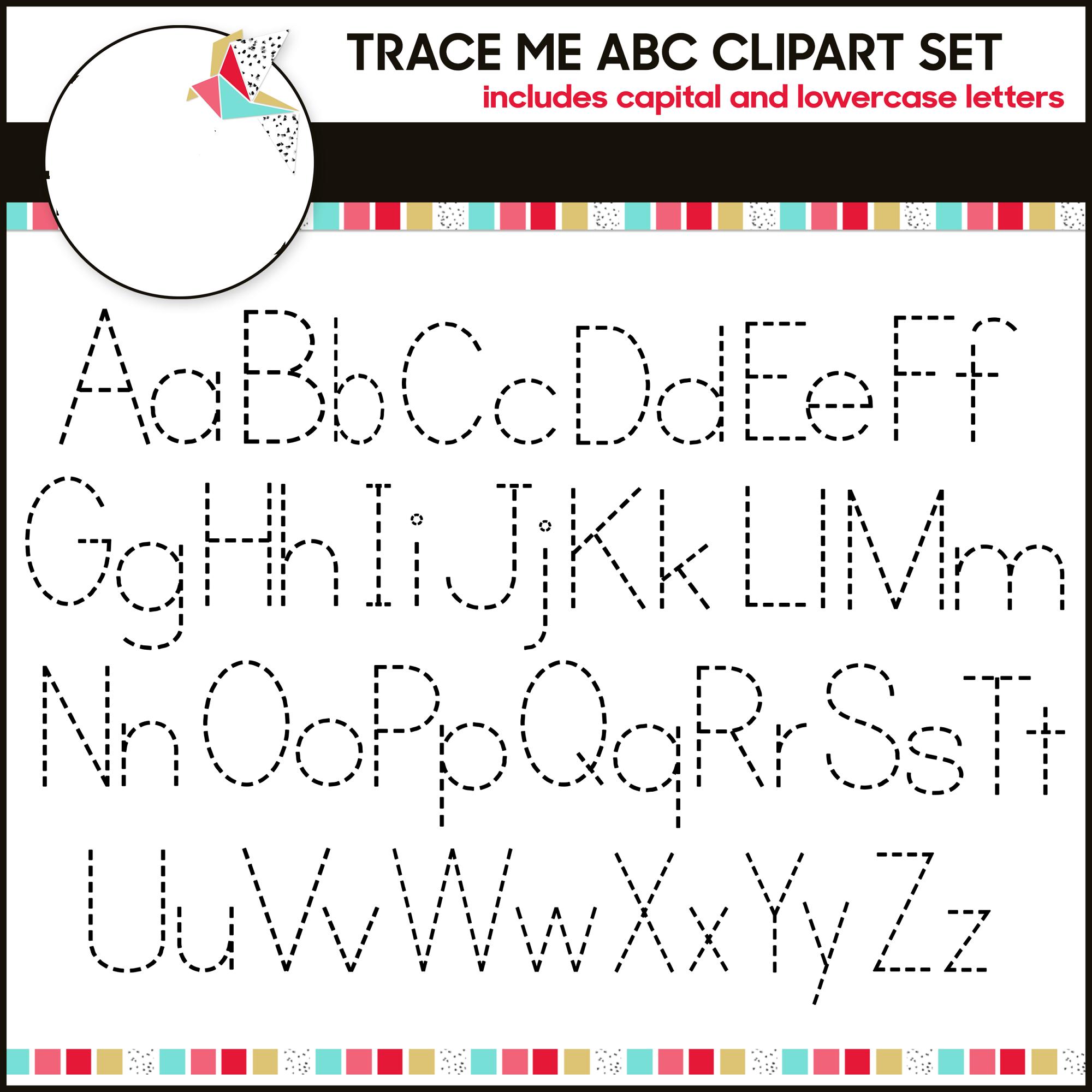 alphabet tracing free