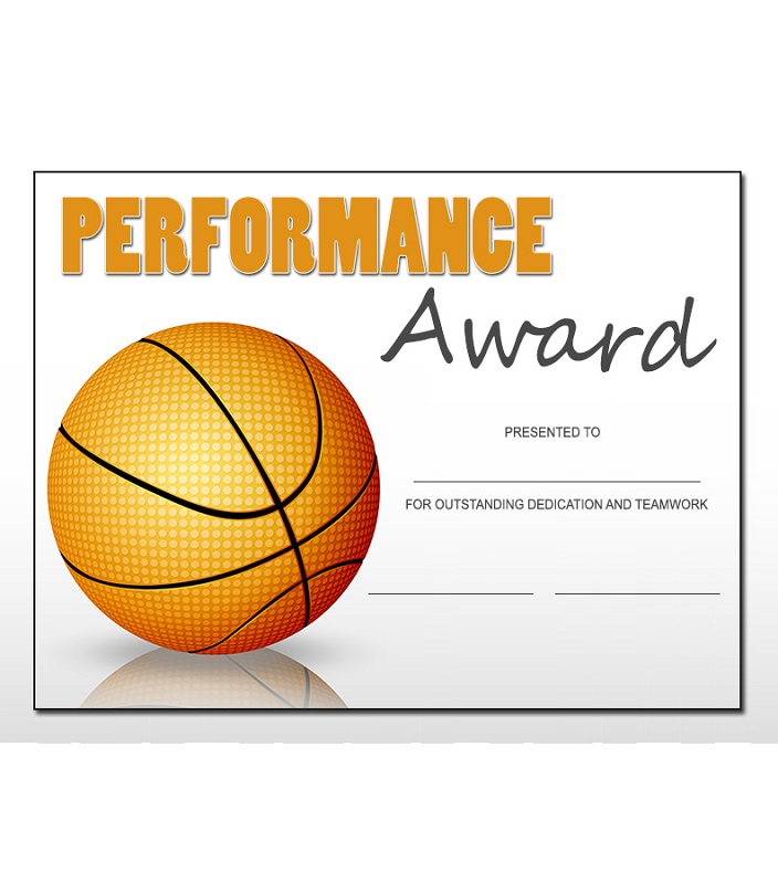 free basketball certificates for kids