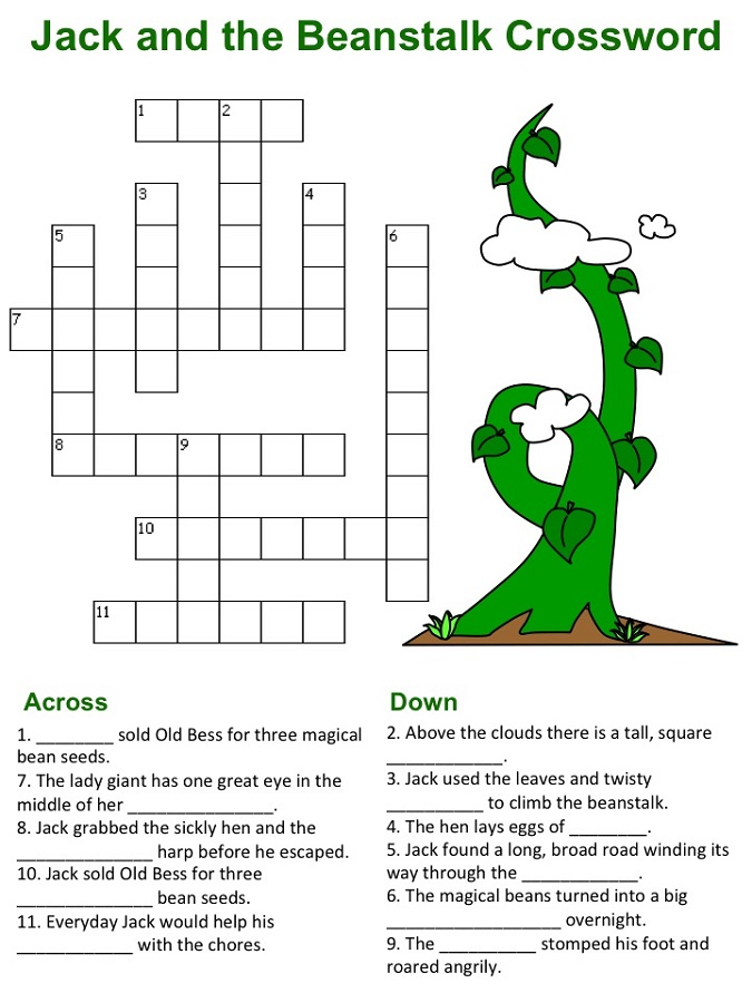 jack and the beanstalk activities for kids