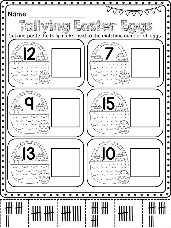 tally mark worksheet 2nd grade