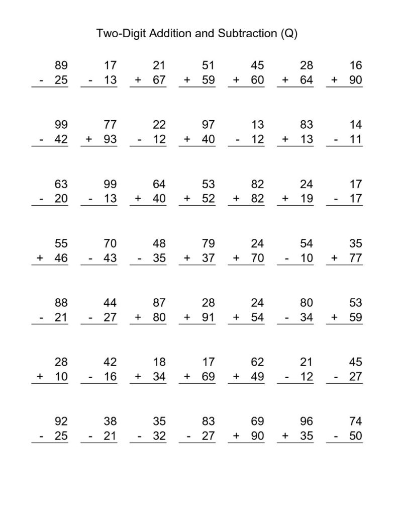 free 3rd grade math worksheets addition