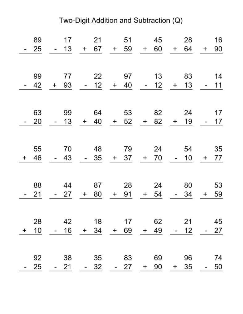 free 3rd grade math worksheets addition