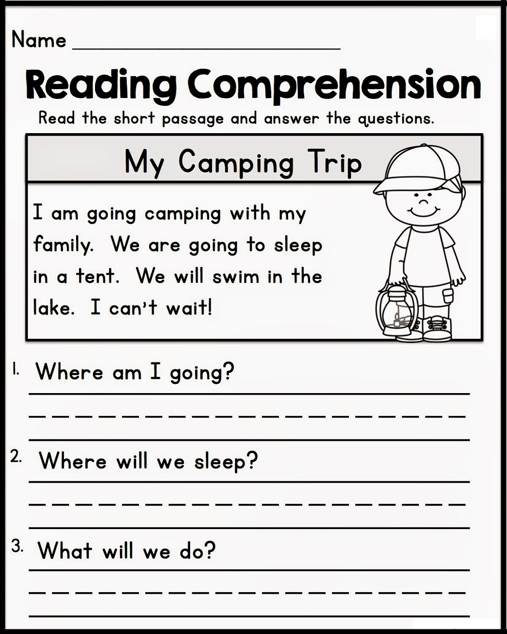 free printable literacy worksheets reading