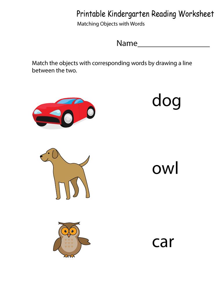 free printable preschool worksheets matching