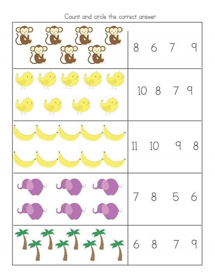 free printable preschool worksheets printable