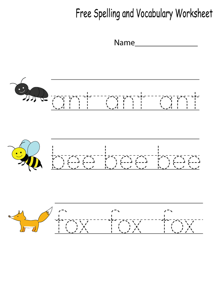 Free Printable Preschool Worksheets | Activity Shelter