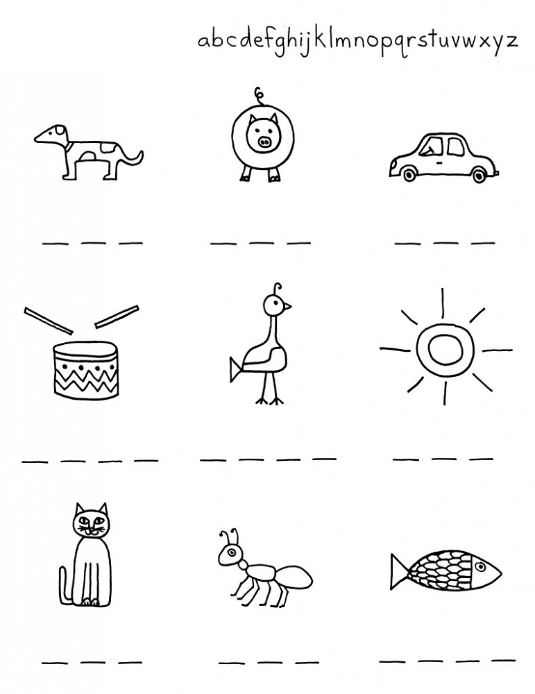 free worksheets for kids printable