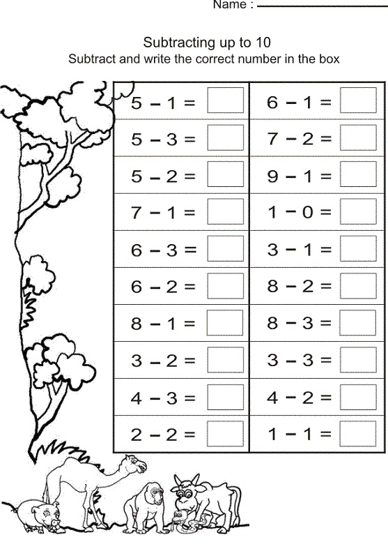 Breathtaking image within printable math worksheets for grade 1