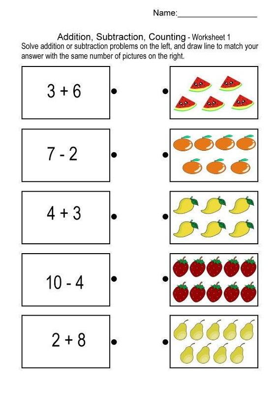 grade 1 math printable