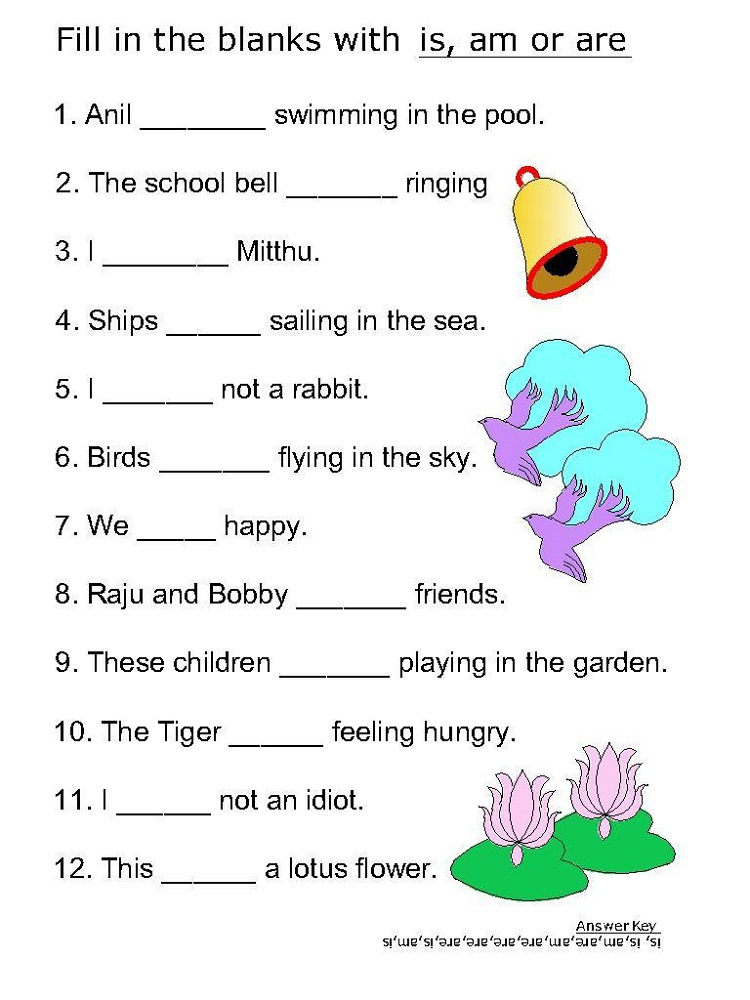 kids activity sheets words