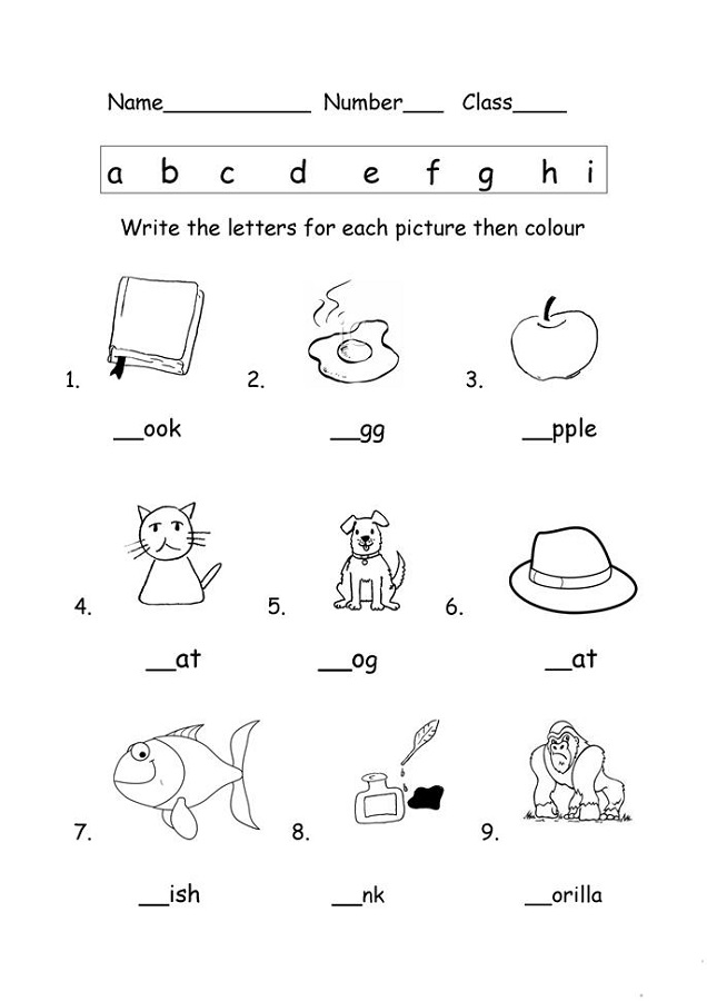 printable worksheets letters