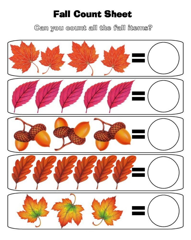 printable worksheets preschool