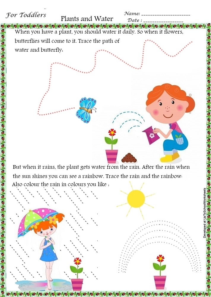 worksheet for nursery free