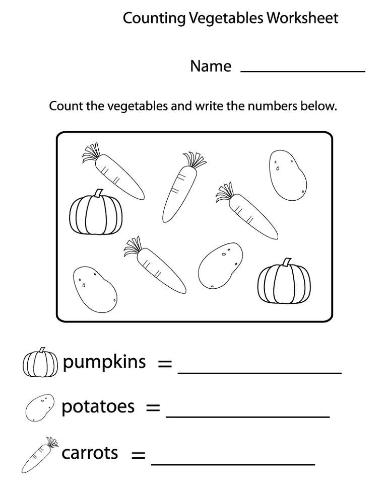 free educational worksheets counting