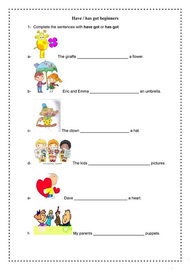 free elementary worksheets writing
