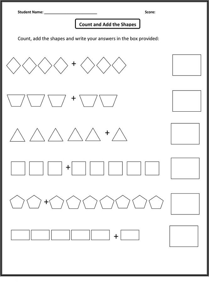free homeschool printable worksheets count