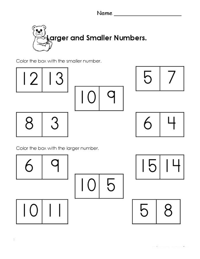 free homeschool printable worksheets number
