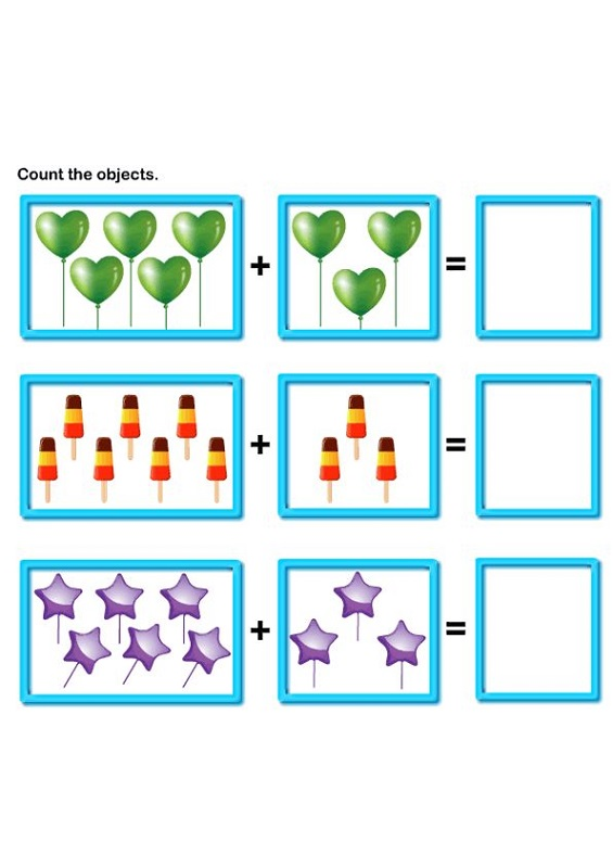 free math worksheets for kids 1st grade