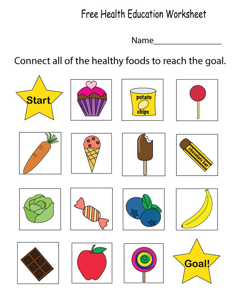 free printable workbooks health