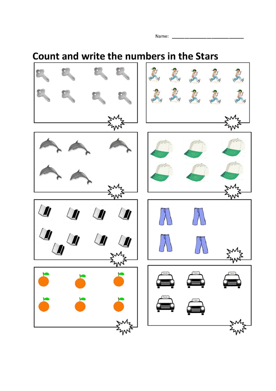 Free Numeracy Worksheets   Activity Shelter