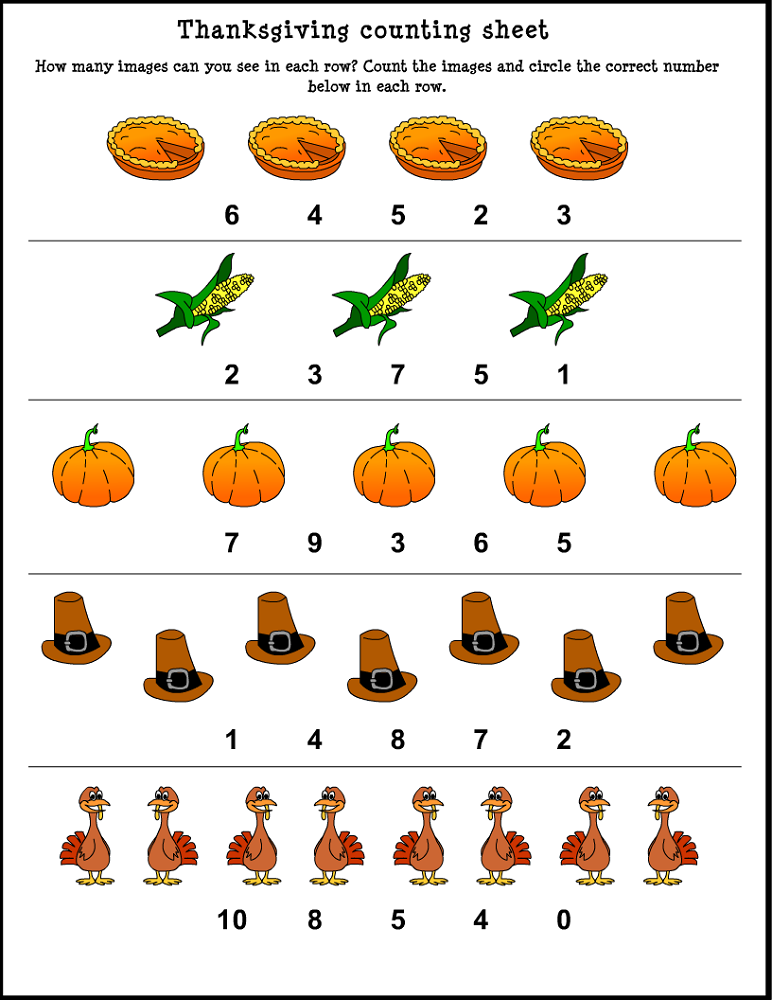 free printable basic math worksheets counting