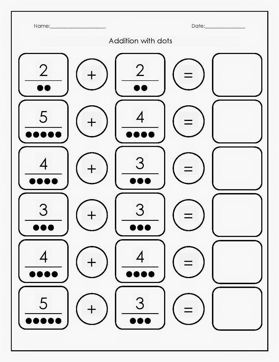 Free Printable Basic Math Worksheets | Activity Shelter