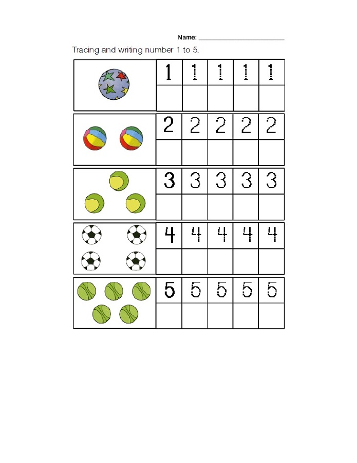 maths online worksheets trace