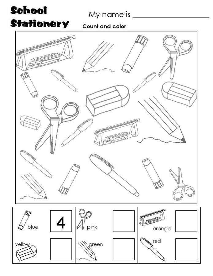 school workbooks for free coloring