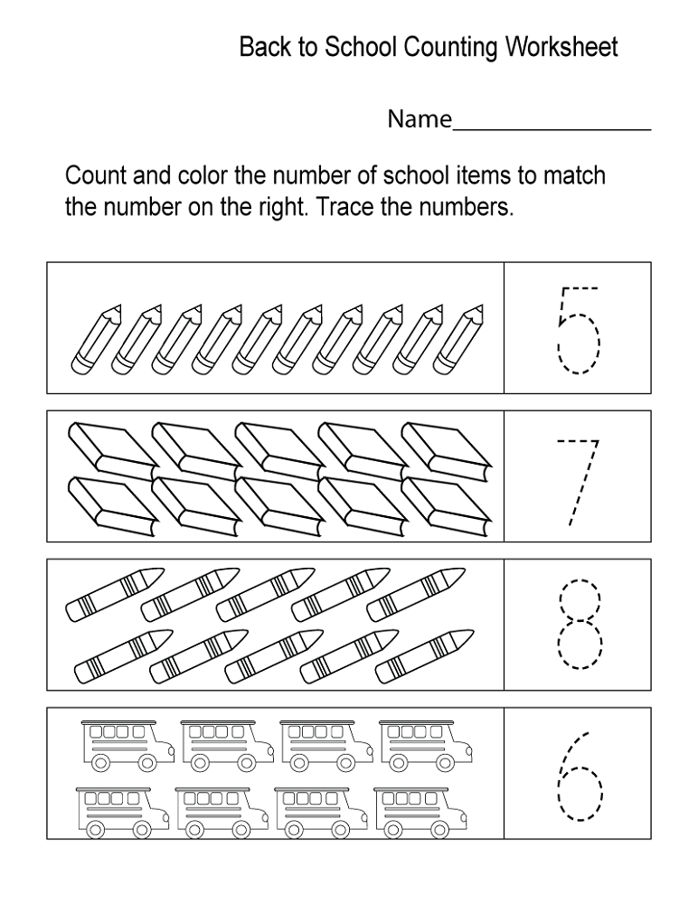 school workbooks for free count