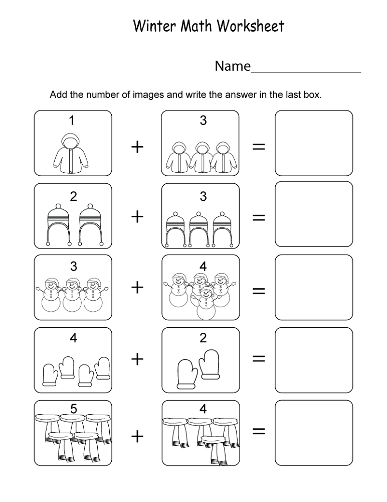 Free Math Printouts Worksheets | Activity Shelter