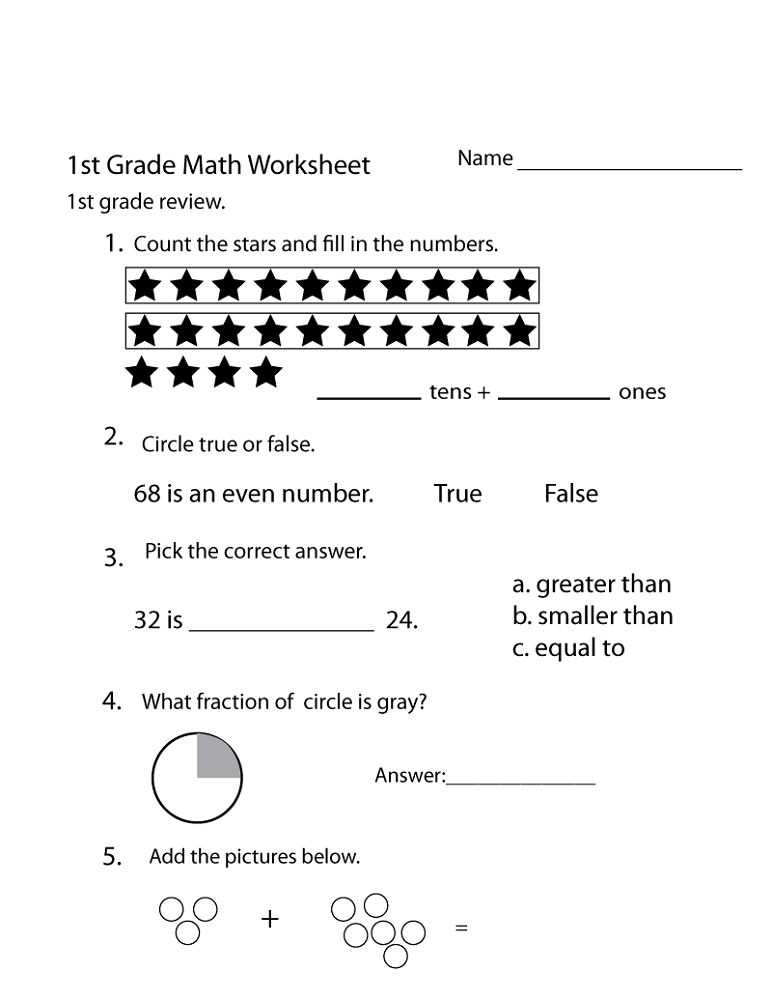 Free School Work Sheets | Activity Shelter
