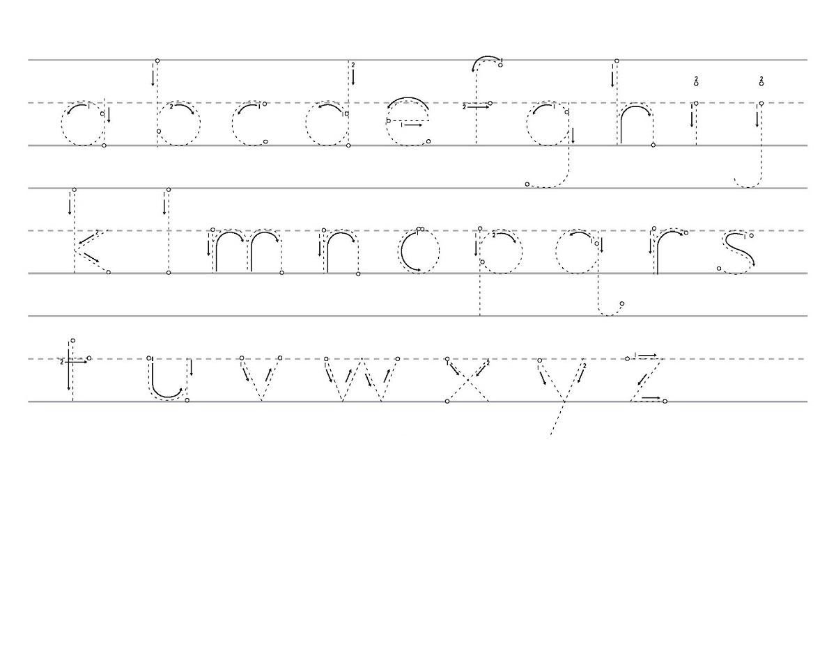 traceable alphabet worksheets a-z practice