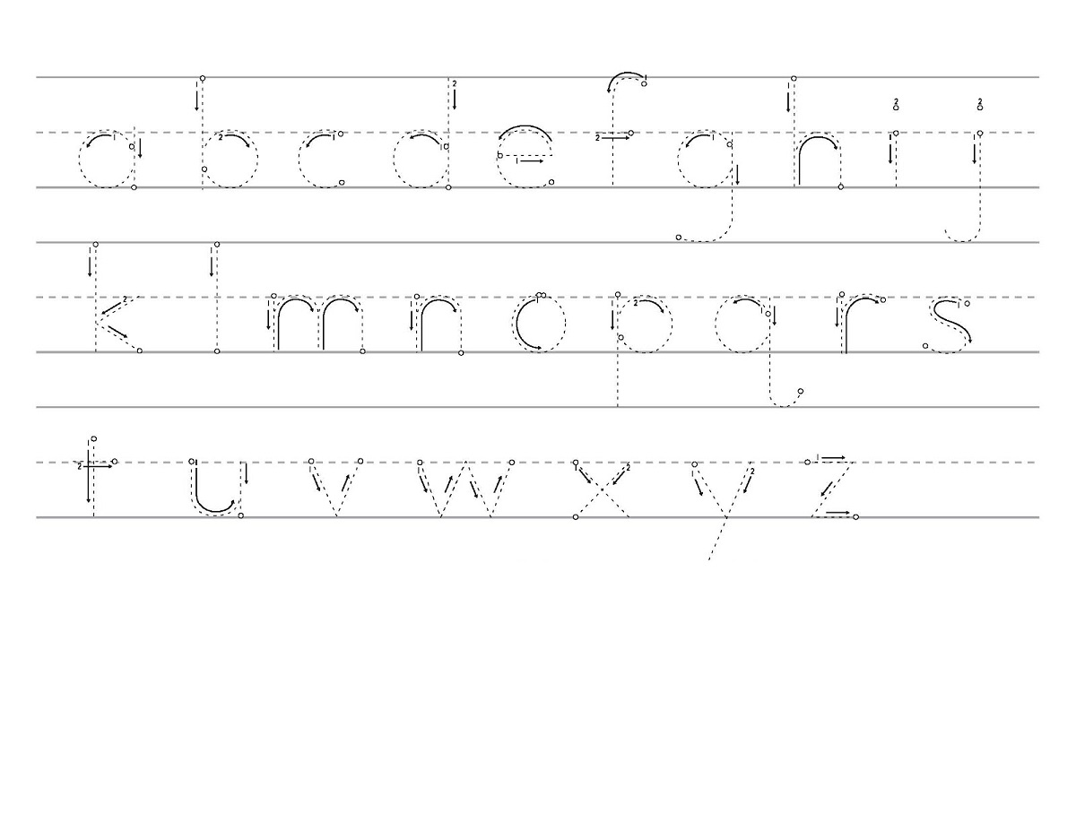 Traceable Alphabet Worksheets A Z Activity Shelter
