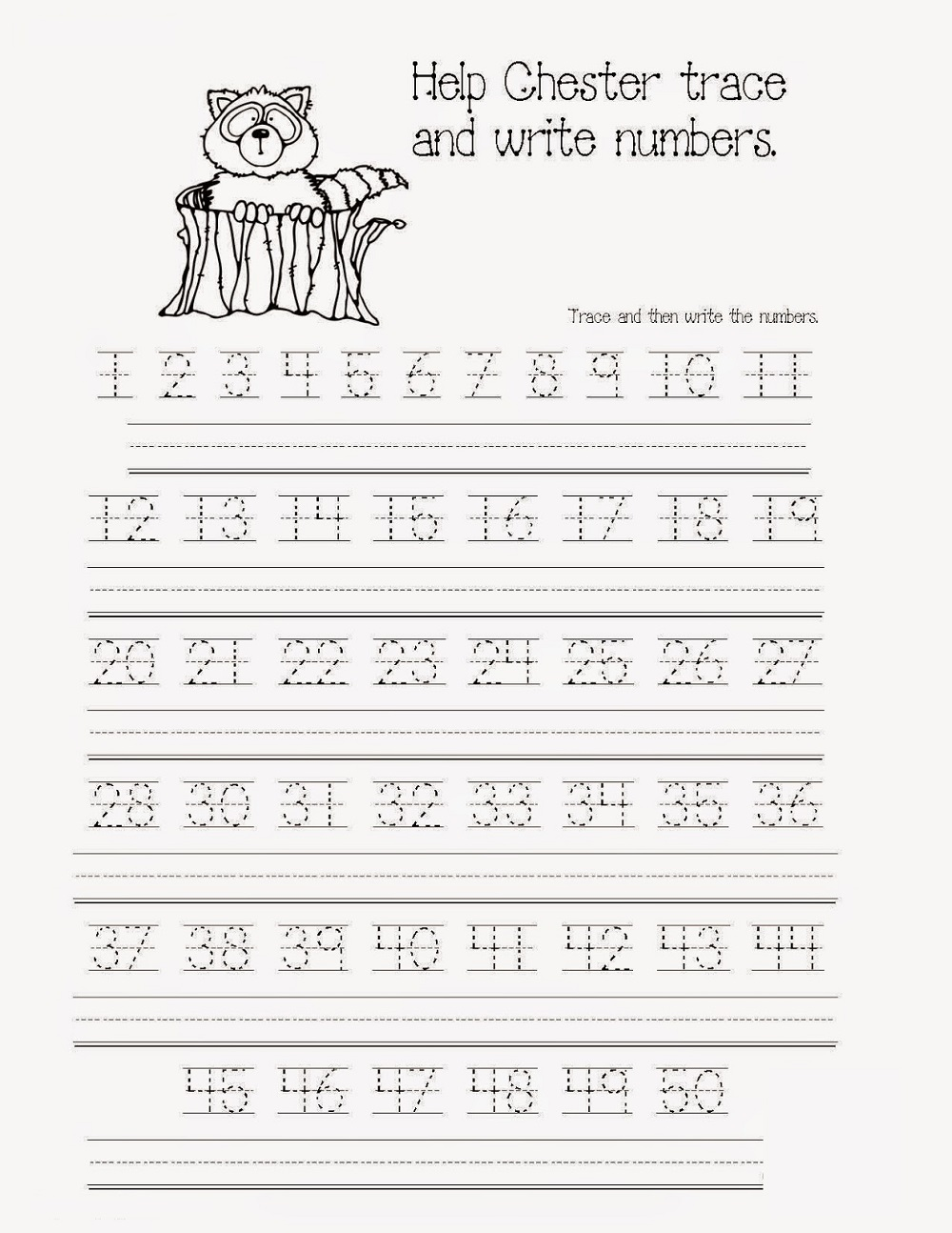 Workbooks traceable alphabet worksheets a-z : Traceable Numbers Worksheets | Activity Shelter