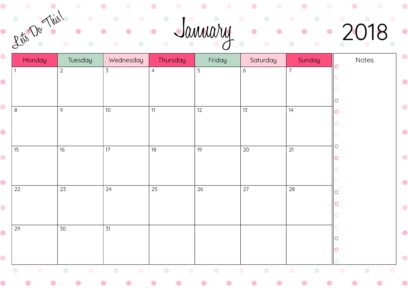 graphic about Www.printablecalendars.com � Www.freeprintable.net named No cost Printable Calendars 2018 Video game Shelter