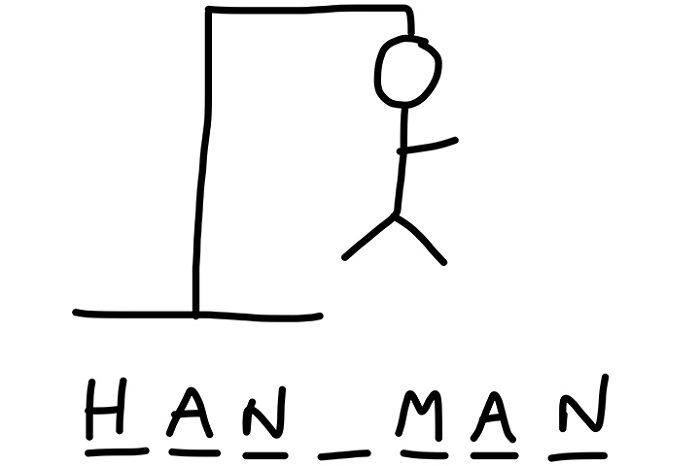 Hangman Word Game Printable