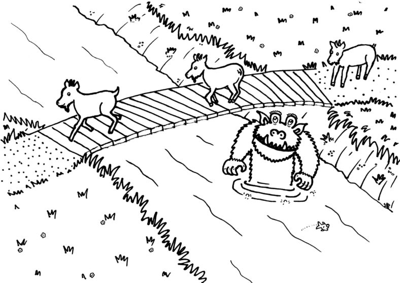 3 Billy Goats Gruff Activities Children