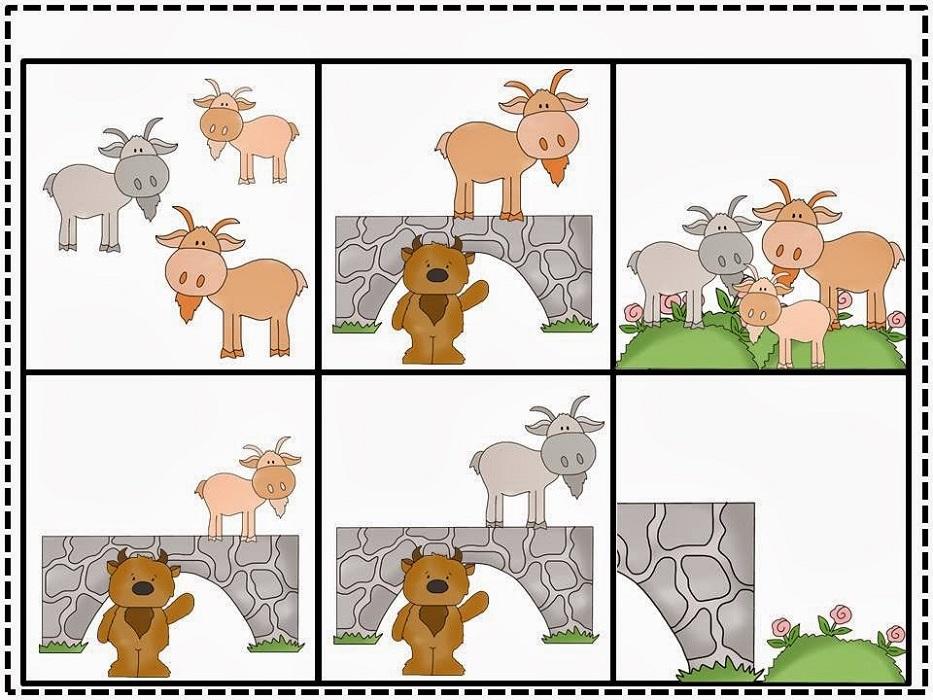 3 Billy Goats Gruff Activities Kindergarten