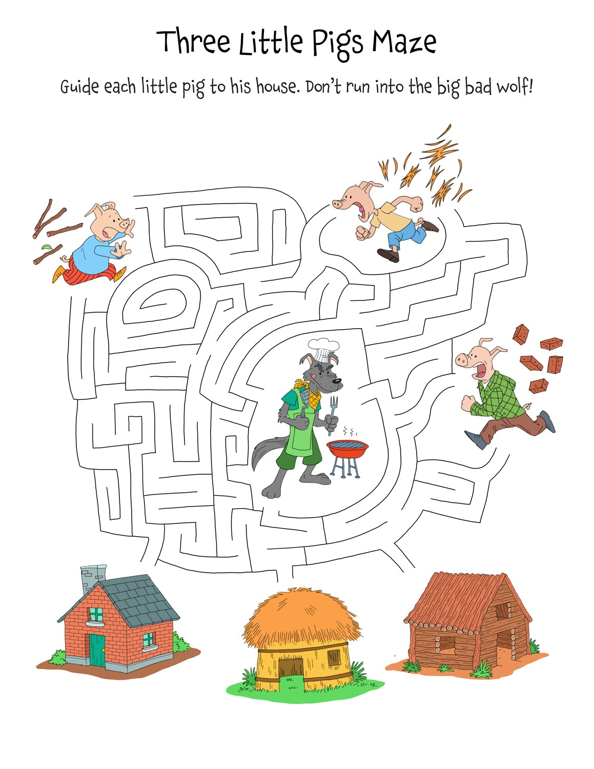 3 Little Pigs Resources Puzzle