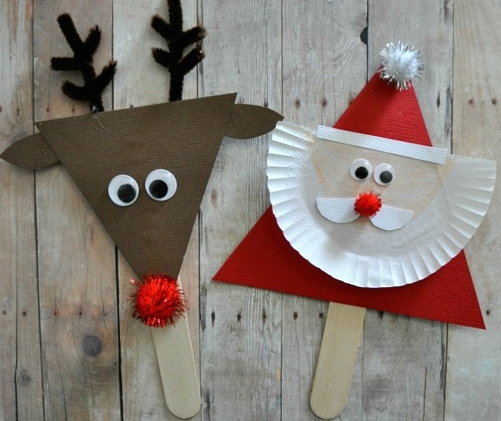 Christmas Crafts for Kids Easy