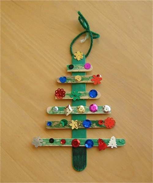 Christmas Crafts for Kids Stick
