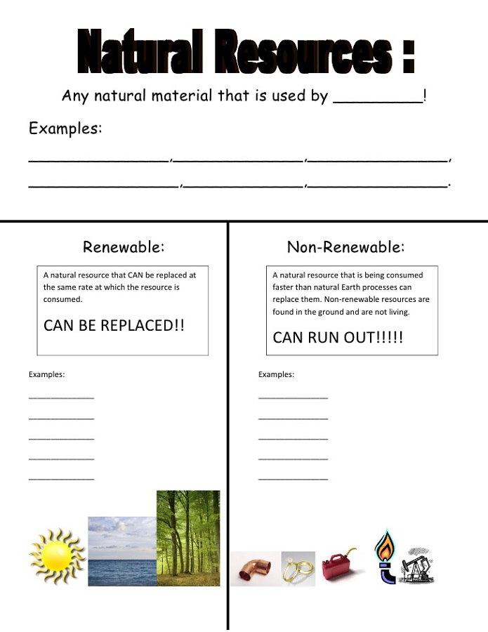 Free Printable Resources Natural