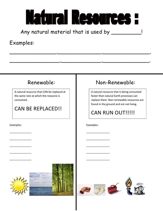 Free Printable Resources Natural