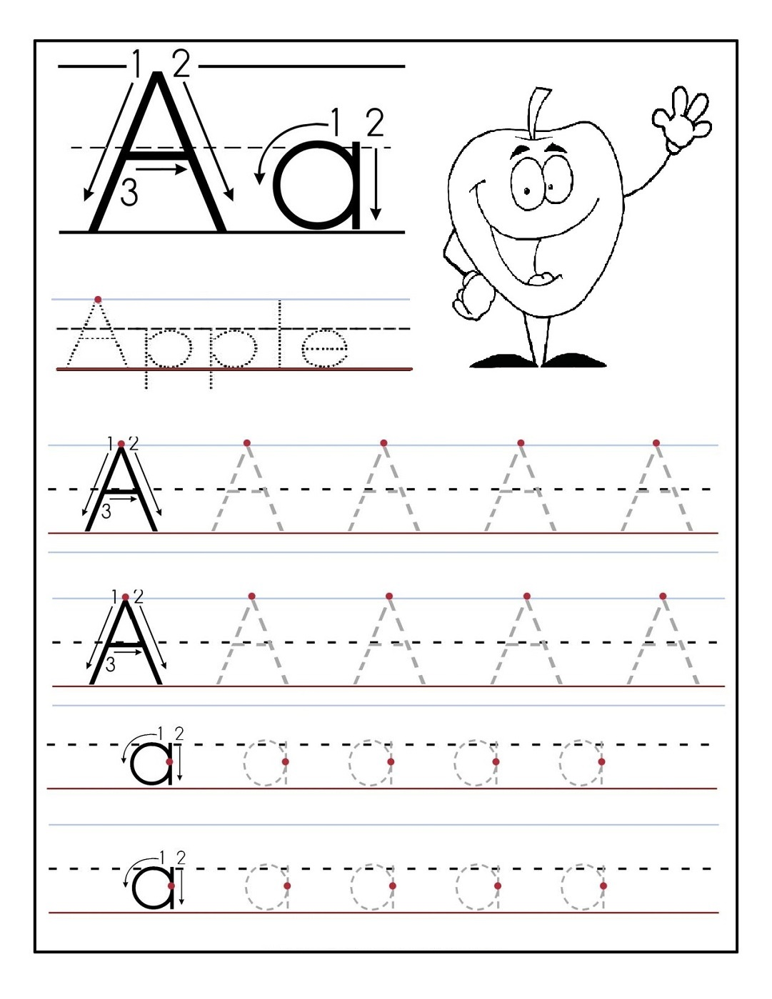 Free Printing Sheets Letter
