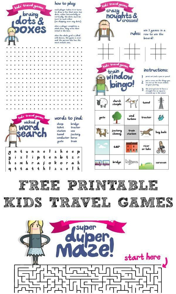 Pencil and Paper Games for Kids Free