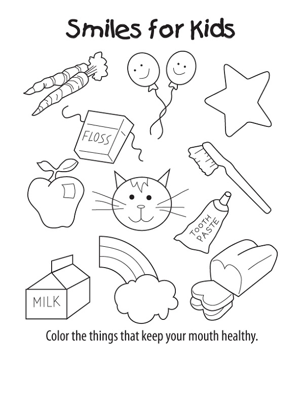 Free Kids Activity Sheets Coloring