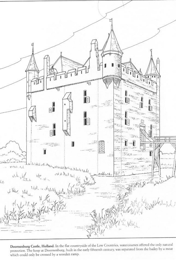 Middle Ages Activities for Kids Castle