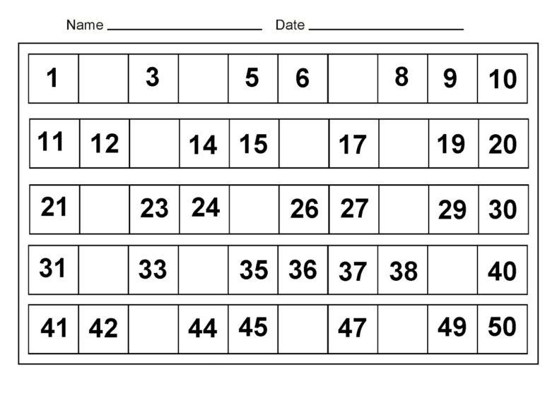 Free Printable Educational Worksheets Kindergarten