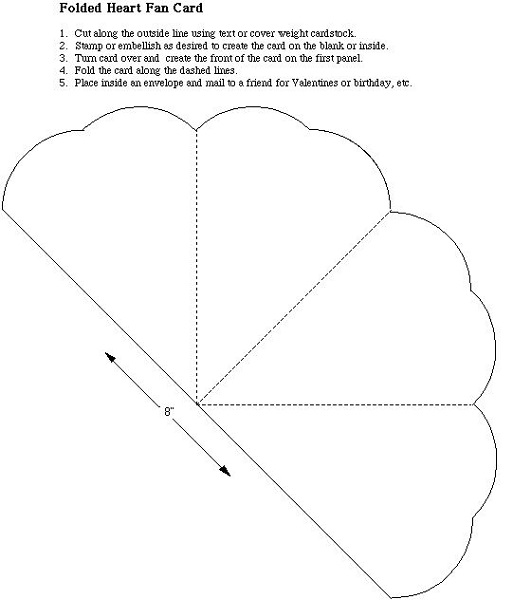 Free Printable Templates Heart