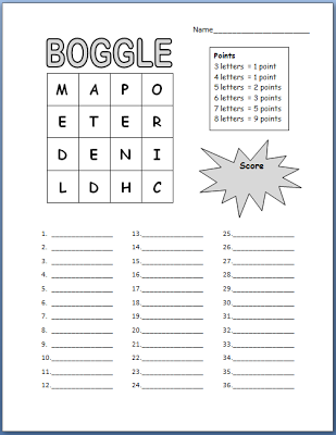 Boggle for Kids Free